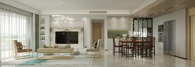 130平米三室两厅新古典风格玄关装修图片大全