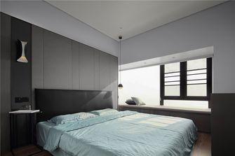 120平米三室一厅混搭风格卧室图片大全