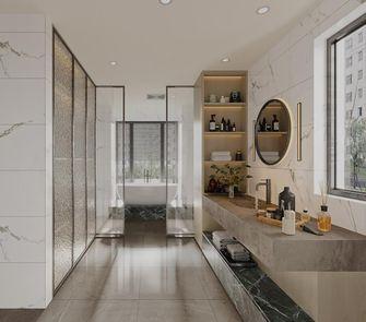 80平米三室一厅日式风格卫生间装修图片大全