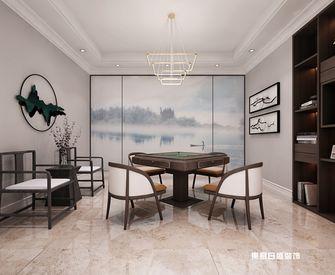 140平米别墅混搭风格书房设计图