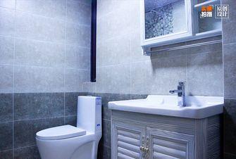 120平米三室两厅中式风格卫生间设计图
