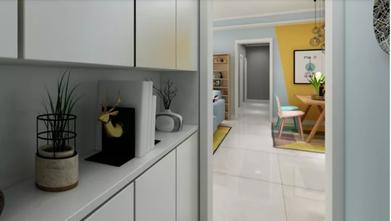 50平米公寓北欧风格玄关设计图