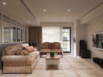 90平米四室一厅地中海风格客厅图片大全