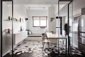 經濟型80平米混搭風格廚房裝修效果圖