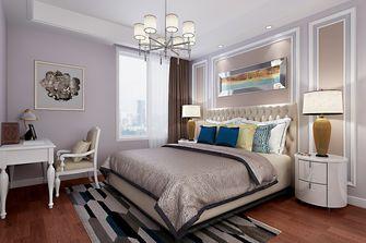 140平米复式美式风格卧室设计图