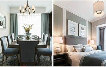 10-15万110平米三室两厅新古典风格阳光房装修案例