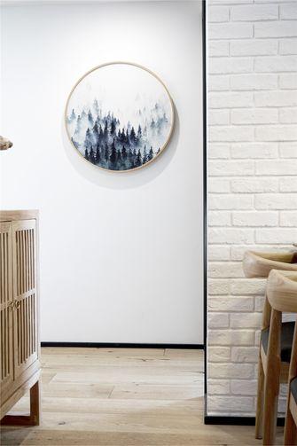 80平米三室一厅北欧风格走廊装修效果图