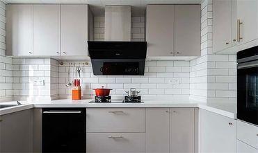140平米三室两厅北欧风格厨房图片大全