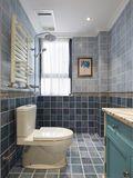 120平米三室两厅地中海风格卫生间装修图片大全