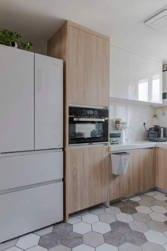 70平米三室两厅北欧风格厨房效果图