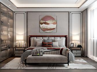 120平米三室两厅中式风格卧室装修效果图