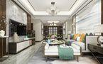 130平米四室两厅新古典风格客厅装修效果图