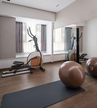140平米现代简约风格健身室装修图片大全