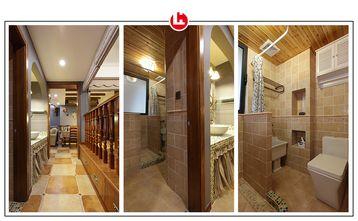 富裕型120平米三美式风格卫生间装修图片大全