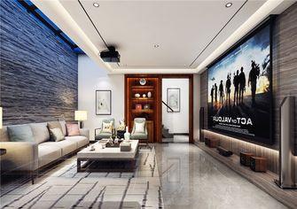 130平米三室两厅中式风格影音室装修图片大全