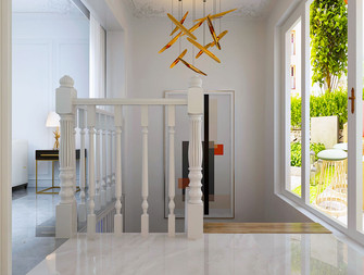 130平米三室两厅其他风格楼梯间设计图