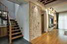 130平米三室两厅日式风格玄关欣赏图