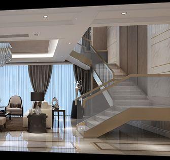 20万以上140平米复式现代简约风格楼梯装修图片大全