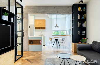 110平米三室一厅北欧风格客厅装修效果图