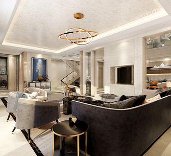140平米别墅混搭风格客厅装修效果图