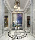 140平米四室三厅法式风格玄关效果图