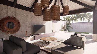 140平米别墅东南亚风格客厅欣赏图