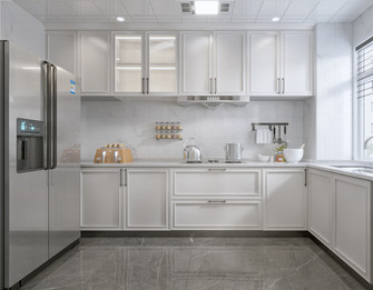 130平米三美式风格厨房图片