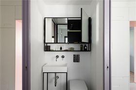 110平米四室兩廳現代簡約風格梳妝臺設計圖
