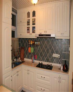富裕型90平米三室一廳混搭風格廚房圖片