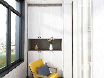 120平米三室两厅北欧风格阳台装修图片大全