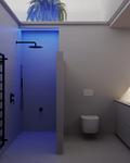 90平米三室两厅宜家风格卫生间欣赏图