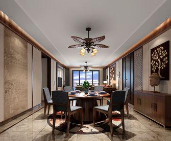 140平米四室两厅东南亚风格餐厅装修效果图