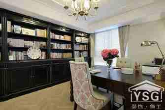 110平米三室两厅美式风格储藏室图片