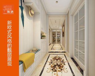 80平米一室一厅欧式风格走廊效果图