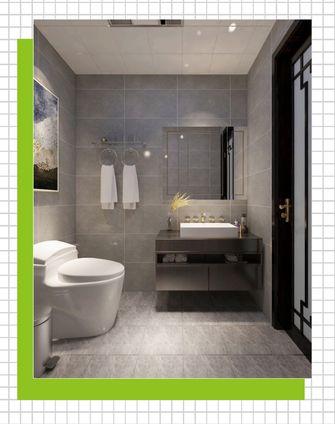 110平米四室两厅中式风格卫生间欣赏图