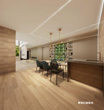 140平米四室六厅现代简约风格餐厅效果图