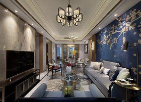 140平米三中式風格客廳裝修案例