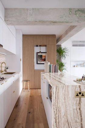 110平米混搭风格厨房图片大全