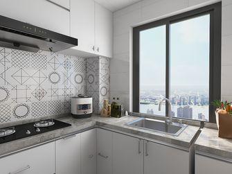 60平米一室一厅混搭风格厨房设计图