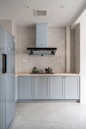 110平米三室一厅法式风格厨房装修效果图