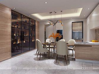 140平米三室一厅中式风格餐厅图片大全