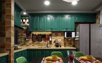 110平米三室一厅混搭风格厨房橱柜装修图片大全
