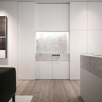 50平米一室两厅现代简约风格其他区域效果图