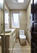 120平米三室一厅新古典风格卫生间图