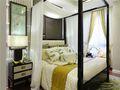 100平米三室一厅东南亚风格卧室装修图片大全