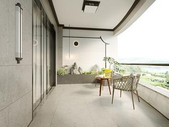 130平米三室两厅新古典风格阳台装修图片大全