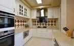 140平米四室三厅美式风格厨房图