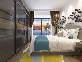 100平米现代简约风格卧室橱柜装修案例