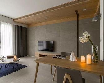 130平米三室一厅东南亚风格客厅装修效果图