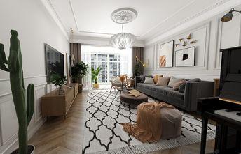 120平米复式法式风格客厅图片
